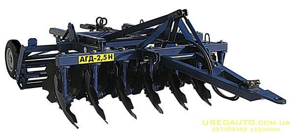 Продажа Дисковая борона АГД 2,5Н , Сельскохозяйственный трактор, фото #1