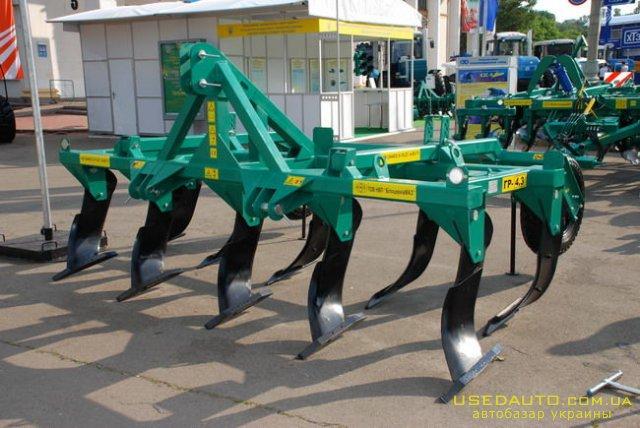 Продажа Глубокоразрыхлитель ГР-4,3  , Сельскохозяйственный трактор, фото #1