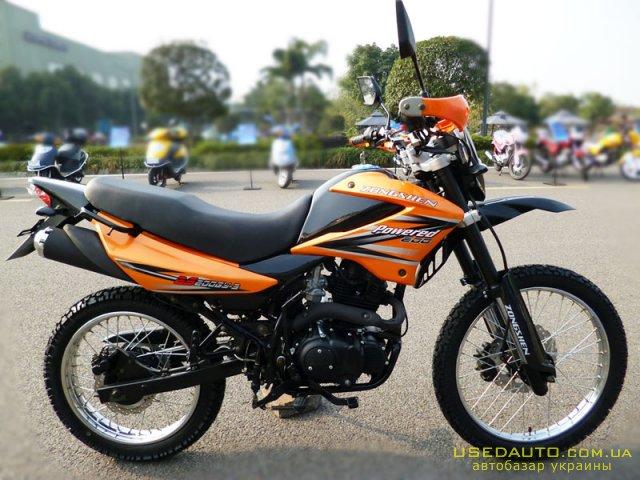 Продажа ZONGSHEN ZS200GY-3 , Кроссовй мотоцикл, фото #1