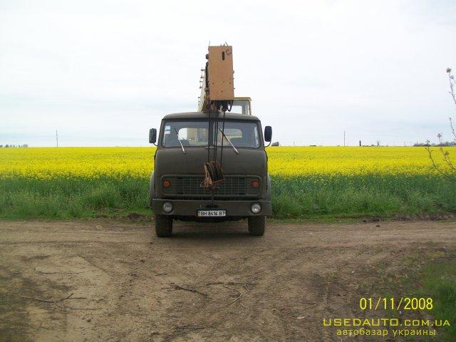 Продажа МАЗ 5334 , Автокран, фото #1