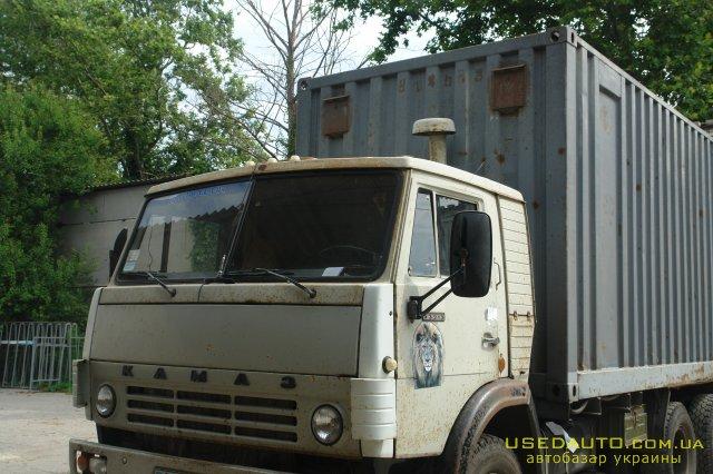 Продажа КамАЗ 52212 , Грузовик контейнер, фото #1