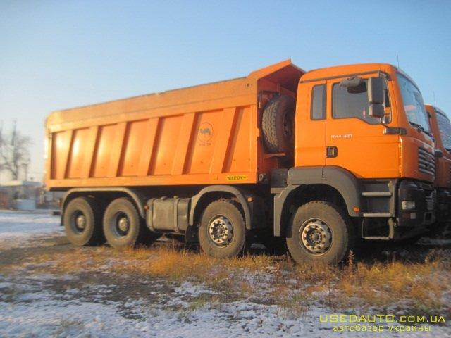 Продажа MAN TGA , Самосвальный грузовик, фото #1