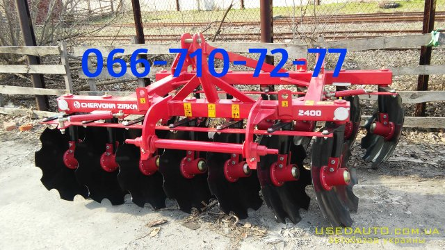 Продажа  Дисковая борона ПАЛЛАДА 2400 (БДН 2400) , Сеялка сельскохозяйственная, фото #1
