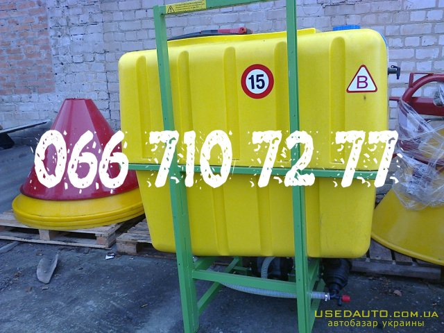Продажа ОПРЫСКИВАТЕЛЬ ОП-600 навесной  , Распылитель сельскохозяйственный, фото #1