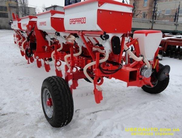 Продажа GASPARDO SP-8Сеялка пропашная  , Сельскохозяйственный трактор, фото #1