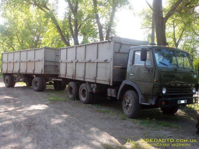 Продажа КамАЗ 5320 с прицепом , Грузовик - молоковоз, фото #1