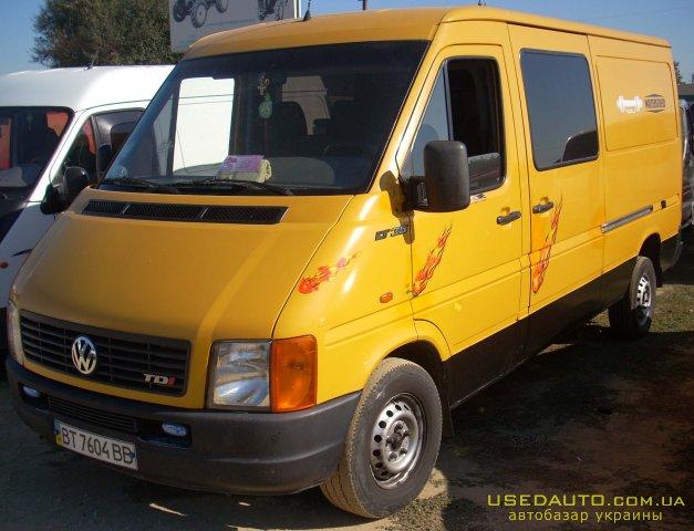 Продажа VOLKSWAGEN LT-35 (ФОЛЬКСВАГЕН), Грузопассажирский микроавтобус, фото #1