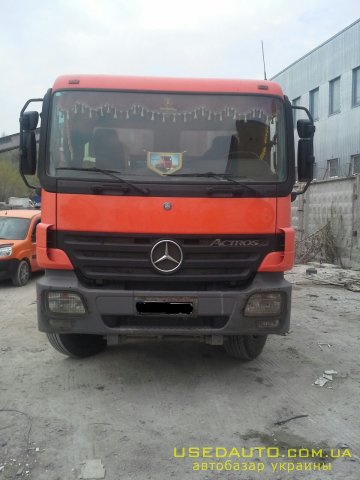 Продажа MERCEDES 4140 , Самосвальный грузовик, фото #1