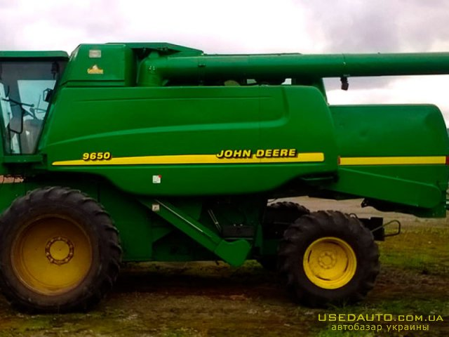 Продажа JOHN DEERE John Deere 9650 W , , фото #1