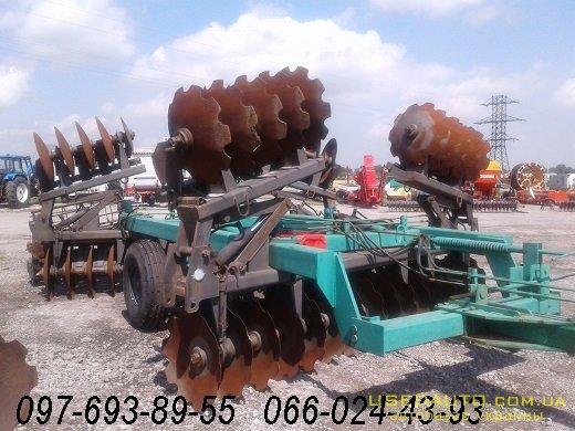 Продажа Борона дисковая Солоха БГР-6.7 б  , Сельскохозяйственный трактор, фото #1