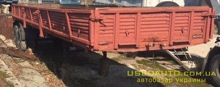 Продажа ОДАЗ 9370 , Бортовой прицеп, фото #1