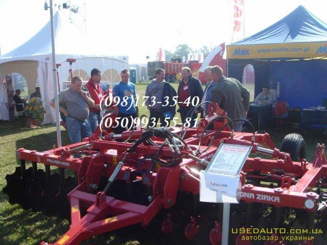 Продажа Прицепная борона Паллада 4000 –Ч  , Сельскохозяйственный трактор, фото #1