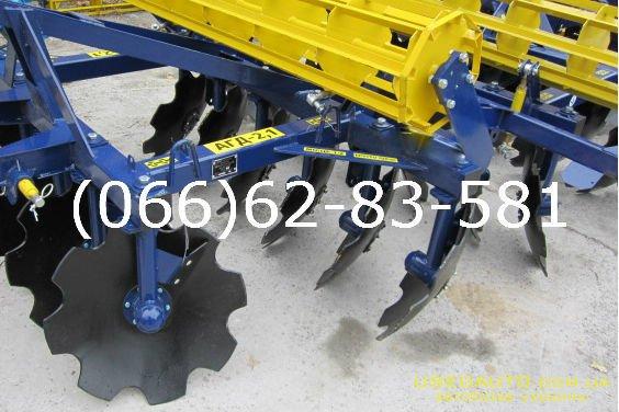 Продажа Дисковый агрегат АГД-2,1 Дисковы  , Сельскохозяйственный трактор, фото #1