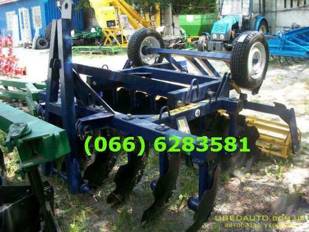 Продажа Прицепная борона АГД 2,5 Н Додат  , Сельскохозяйственный трактор, фото #1